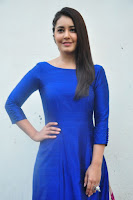 Raashi Khanna Gorgeous at Supreme Success Meet HeyAndhra.com