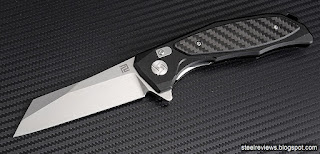 ArtisanCutlery Falcon aluminium handle with D2 blade