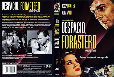 Despacio, forastero | 1950 | Walk Softly, Stranger | Caratula, cover dvd