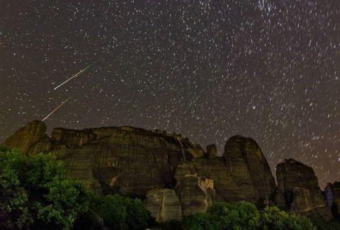 Ωριωνίδες: Σήμερα θα απολαύσετε την πανέμορφη βροχή των αστεριών!