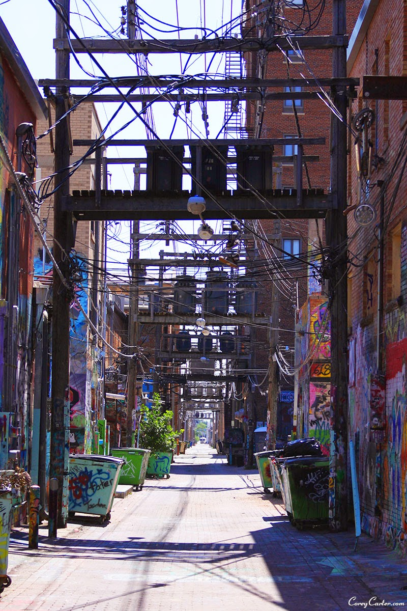 Graffiti Alley - Rapid City, SD - Black Hills of South Dakota