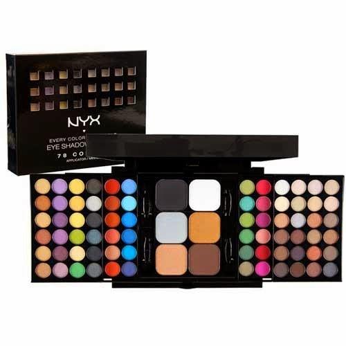 TUTORIAL : NYX Purple Eyeshadow - Roosvansia