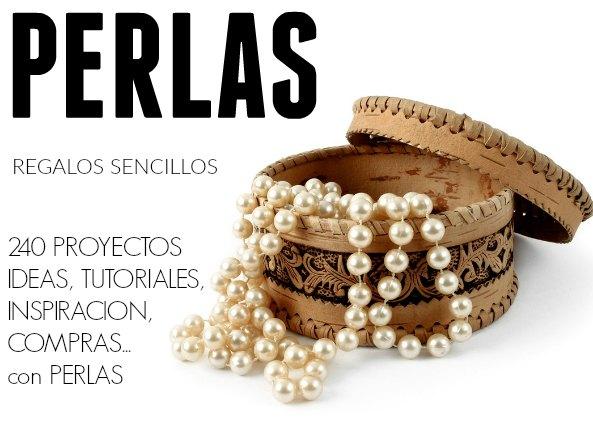 bisutería con perlas, proyectos con perlas, manualidades con perlas, perlas falsas