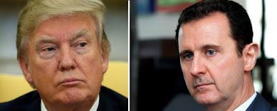 Bassár el-Aszad, Szíria, szír polgárháború, Donald Trump, vegyfegyver-támadás, Washington, Kreml, Damaszkusz, Bashar Hafez al-Assad