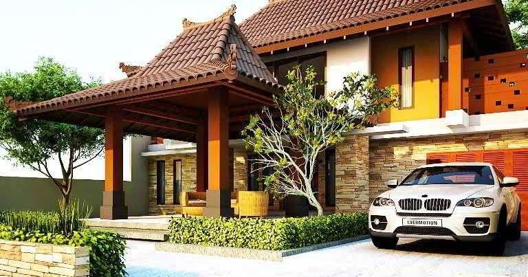 Foto Rumah Joglo Jawa Tengah - Kebaya Solo n