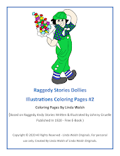 Raggedy Stories Dollies Illustrations Free Coloring Pages Group #2 <br>E-Book