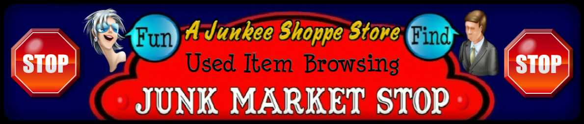 A Junkee Shoppe | Inventory List