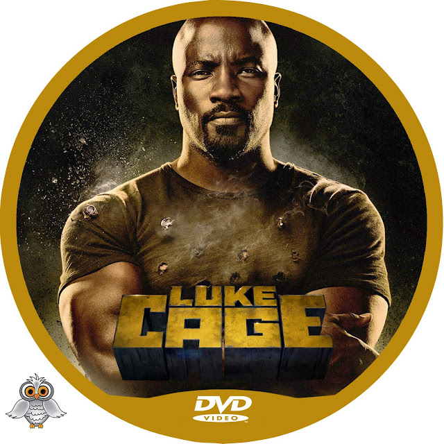 Luke Cage Season 1 DVD Label