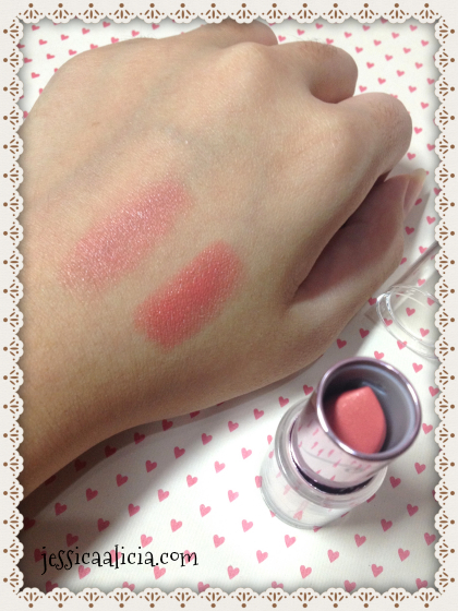 Review & Swatch : Etude House Look at my Lips #09 by Jessica Alicia