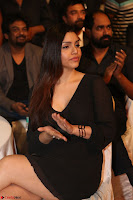 Kyra Dutta in black At Rogue Movie Audio Launch ~  006.JPG