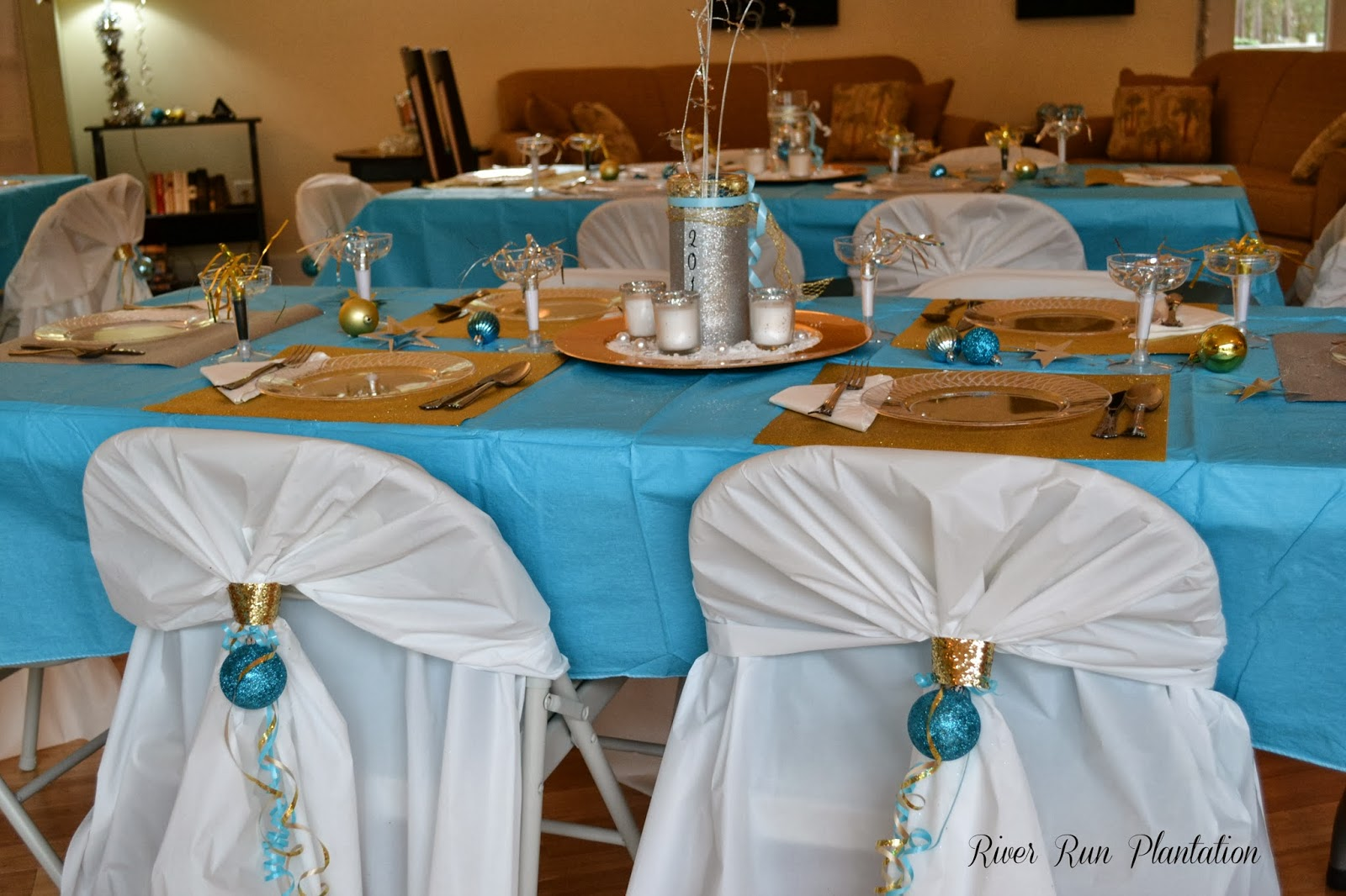 Diy Folding Chair Covers Solid Oak Table And Chairs Sweet Inspirations By Jp Designs New Year 39s Eve In The