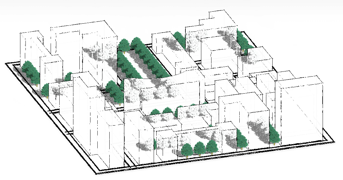 Revit recess revit for conceptual urban design Urban design vs urban planning