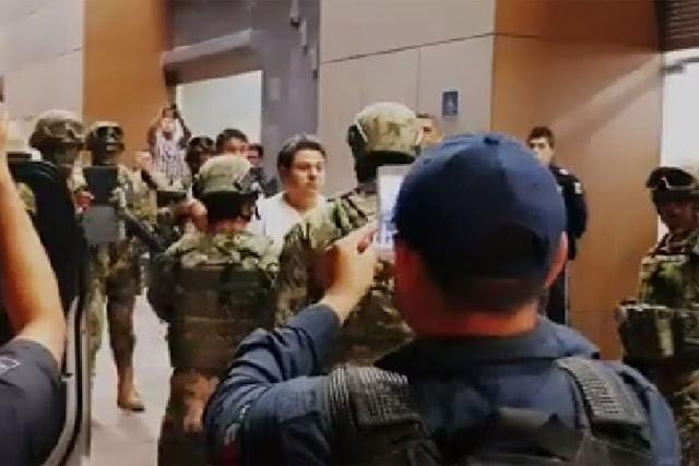 """""""El Babay"""" capo por el que amenazaron a Marina, Ejercito y Federales de muerte sera trasladad a la SEIDO"""