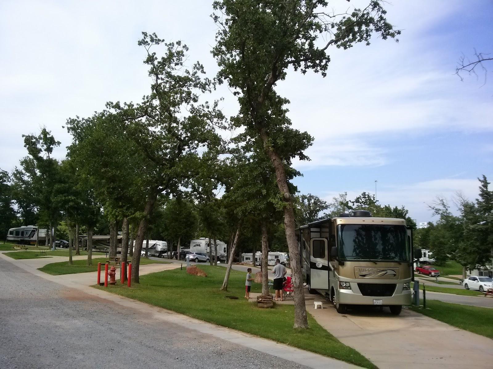 Campgroundcrazy Twin Fountains Rv Resort Oklahoma City