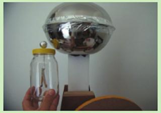 contoh Elektroskop hasil buatan