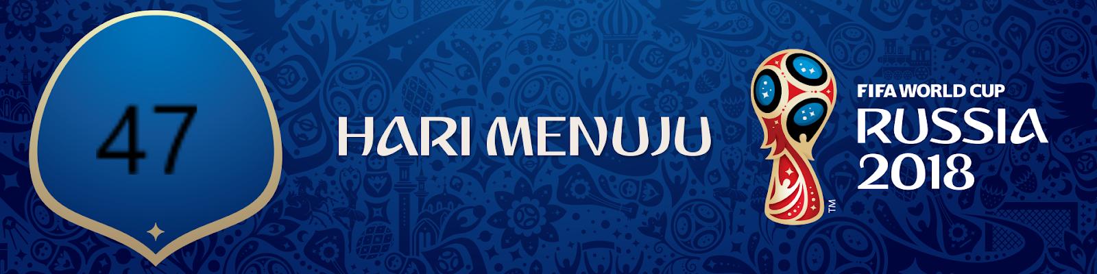 47 Hari Lagi Menuju Piala Dunia 2018 ~ IBOSport World Cup 2018