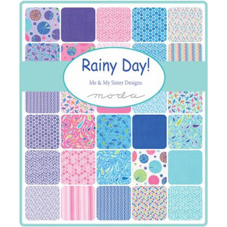 Moda Rainy Day Fabric by Me & My Sister Designs for Moda Fabrics