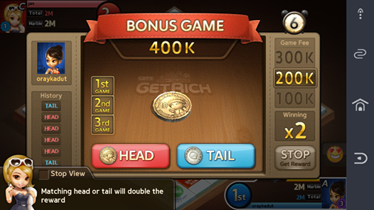 Cheat Game Let's Get Rich Terbaru 2015 Indonesia
