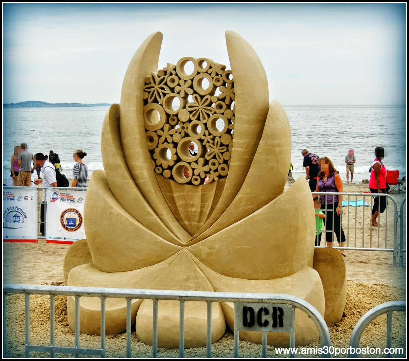 "Revere Beach 2014 National Sand Sculpting Festival: ""Boowing Bloows"""