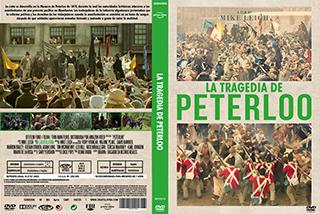 Peterloo - La tragedia de Peterloo - Cover - DVD