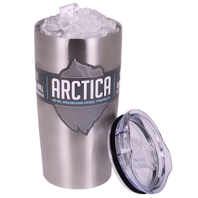 ARCTICA STAINLESS STEEL VACUUM-INSULATED 2O OZ. TUMBLER GIVEAWAY