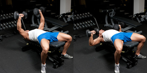 Amazing Chest And Triceps Superset Workout For Best Pump