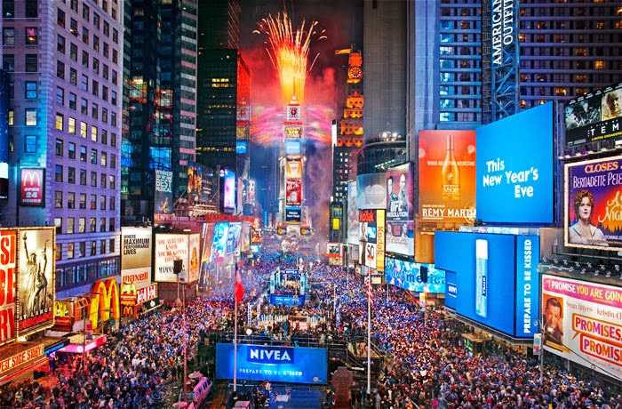 new years eve times square ball drop