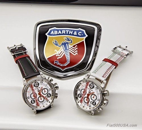 Abarth 595 50th Anniversary BRM Watch