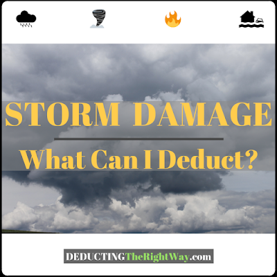 storm expenses | www.deductingtherightway.com