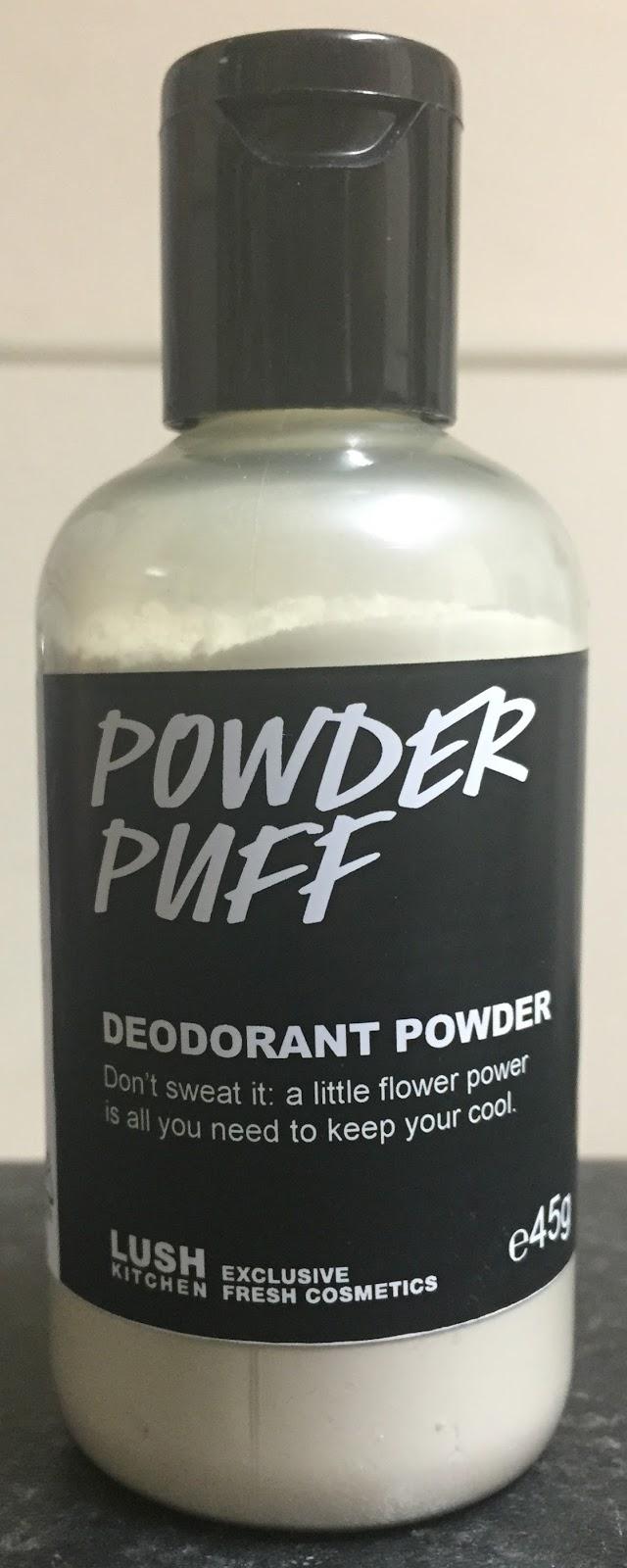 All Things Lush Uk Powder Puff Deodorant Powder