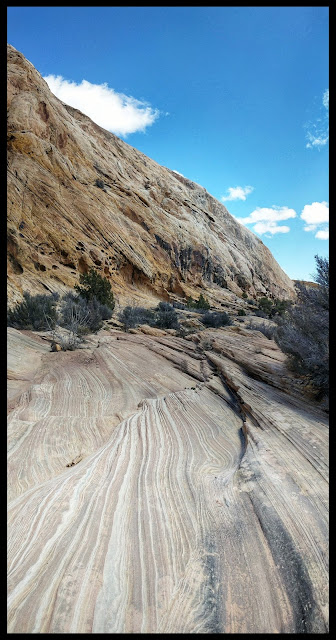 Very Cool Ripple Striped Ground in Spirit Arch Canyon
