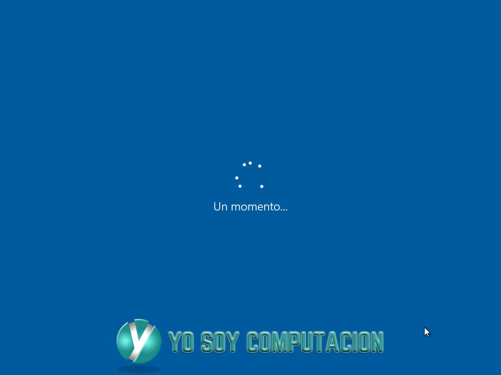 Windows 10 instalación completa