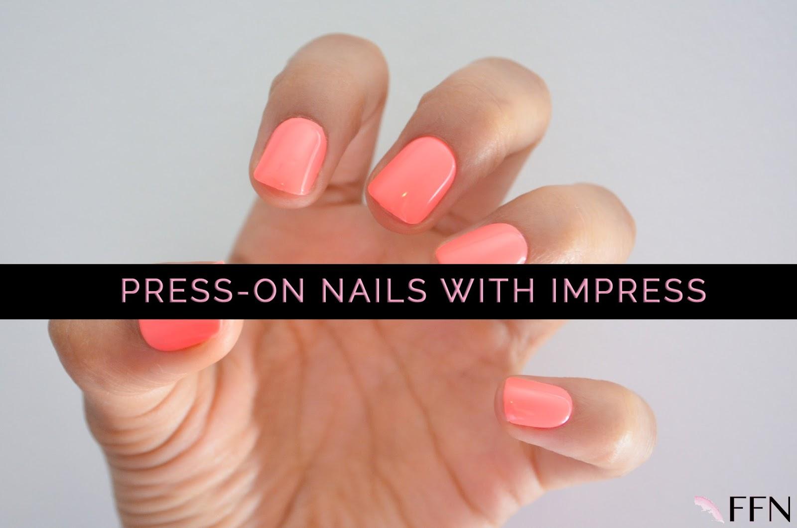IMPRESS - PRESS-ON MANICURE | Fashion FaB News | Bloglovin\'