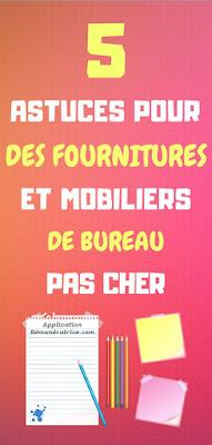 fourniture et mobilier de bureau pas cher