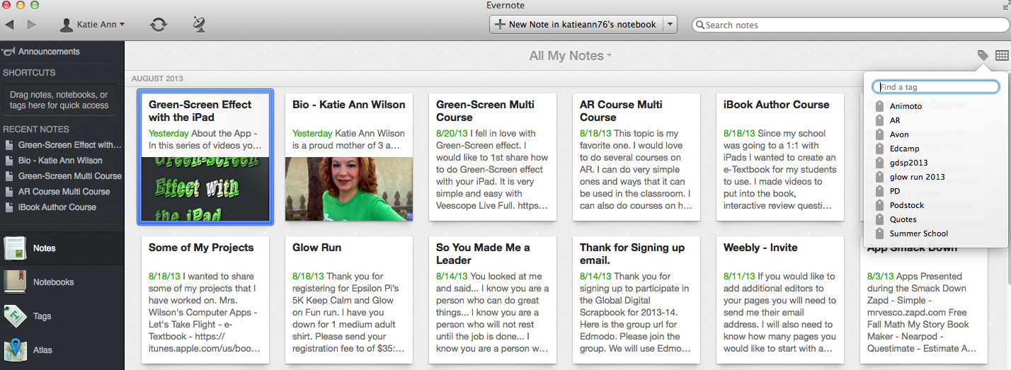 Diary of a Techie Chick: App / Tool of the Week - Evernote