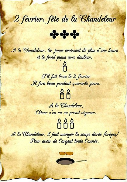 Chandeleur - ciekawostki 2 - Francuski przy kawie