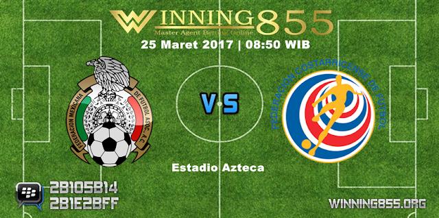 Prediksi Bola Meksiko vs Kosta Rika 25 Maret 2017