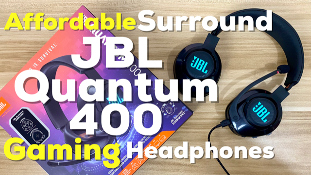JBL Quantum 400 Gaming Headset Unboxing