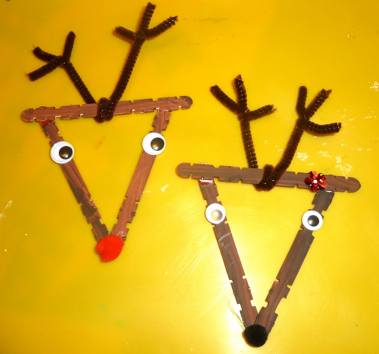 5 Homemade Craft Stick Christmas Ornaments For Kids