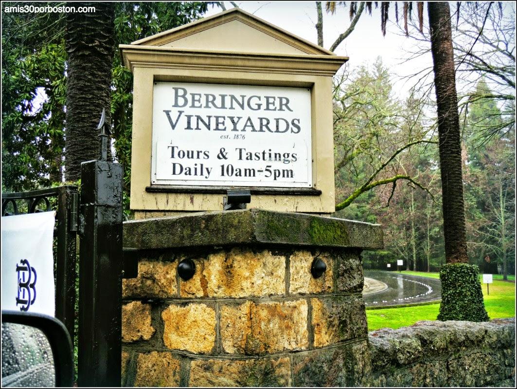 Ruta por las Bodegas del Valle de Napa: Beringer