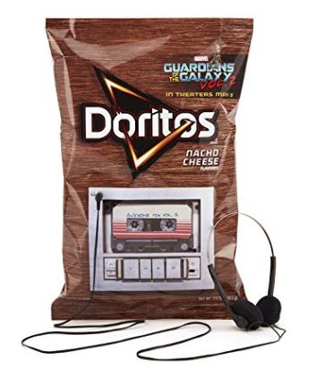 Amazon: Doritos Guardians of the Galaxy Vol. 2 Soundtrack - Doritos Music Bag + Headphones