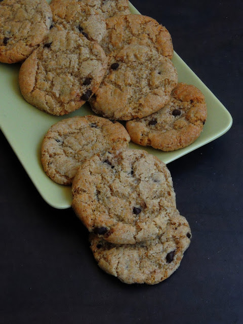 Spelt Flour Chocolate chips Cookies