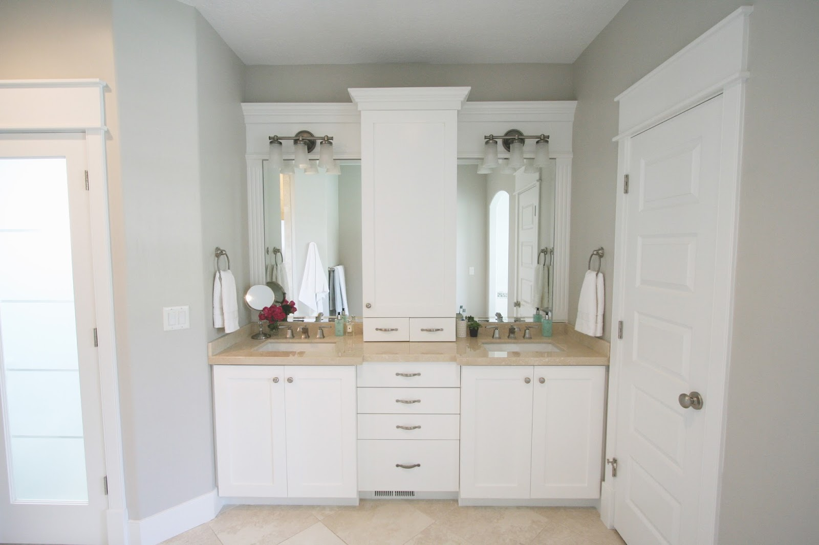 agreeable gray bathroom. Master Bathroom Reveal Design  Life and Style