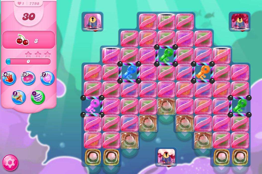 Candy Crush Saga level 7798