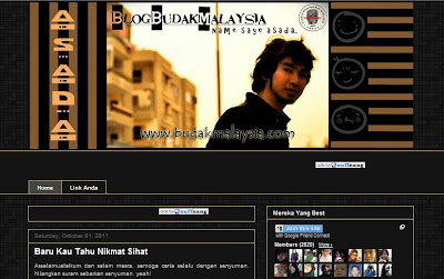 Blog Asada Budak Malaysia