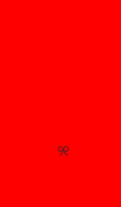 Red x ribbon