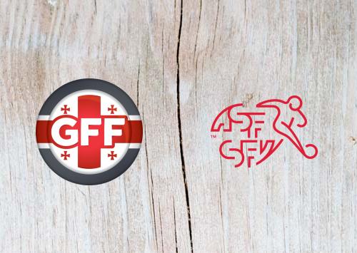 Georgia vs Switzerland - Highlights 23 March 2019