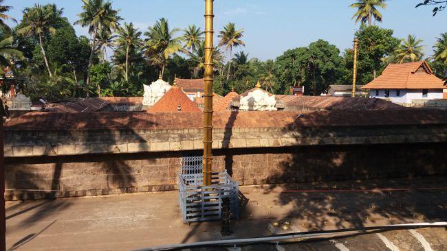 Sri Parasurama Temple Aerial View