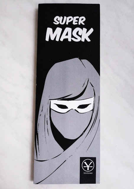 hydrożelowa maska na oczy SUPER MASK od Yasumi