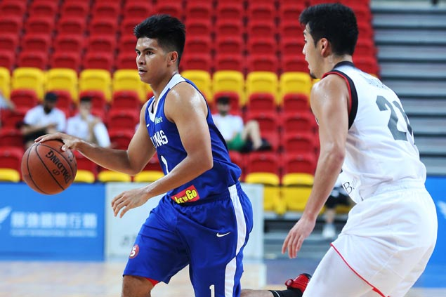 Gilas Pilipinas leaned on Kiefer Ravena's clutch shots to survive Thailand